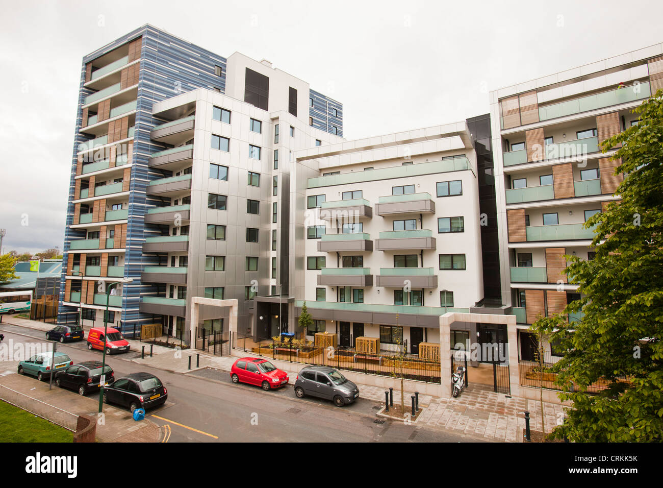 Watling Place, new apartment buildings in Queens Park, london, UK ...