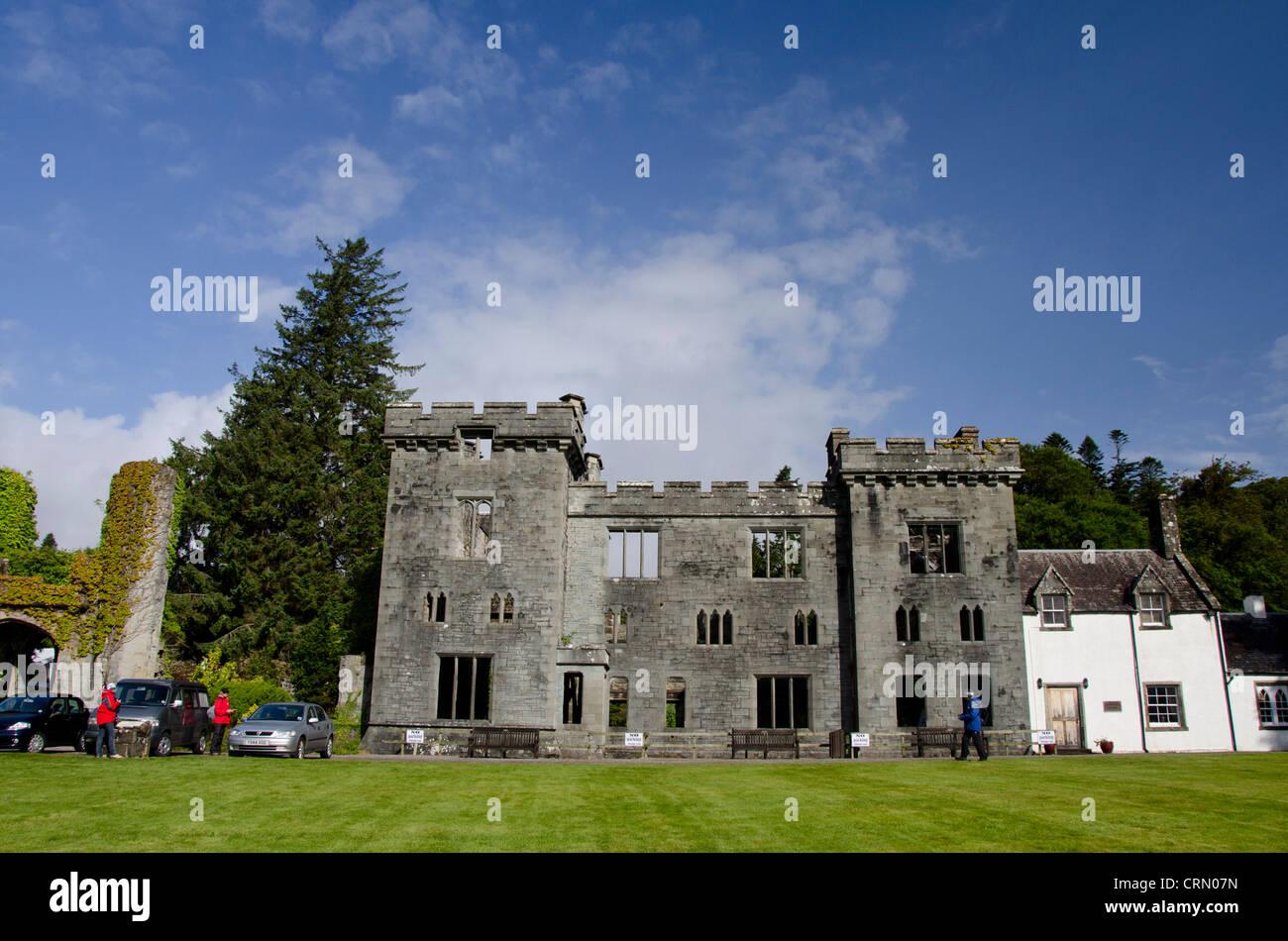 Scotland Inner Hebrides Isle Of Skye Armadale Castle