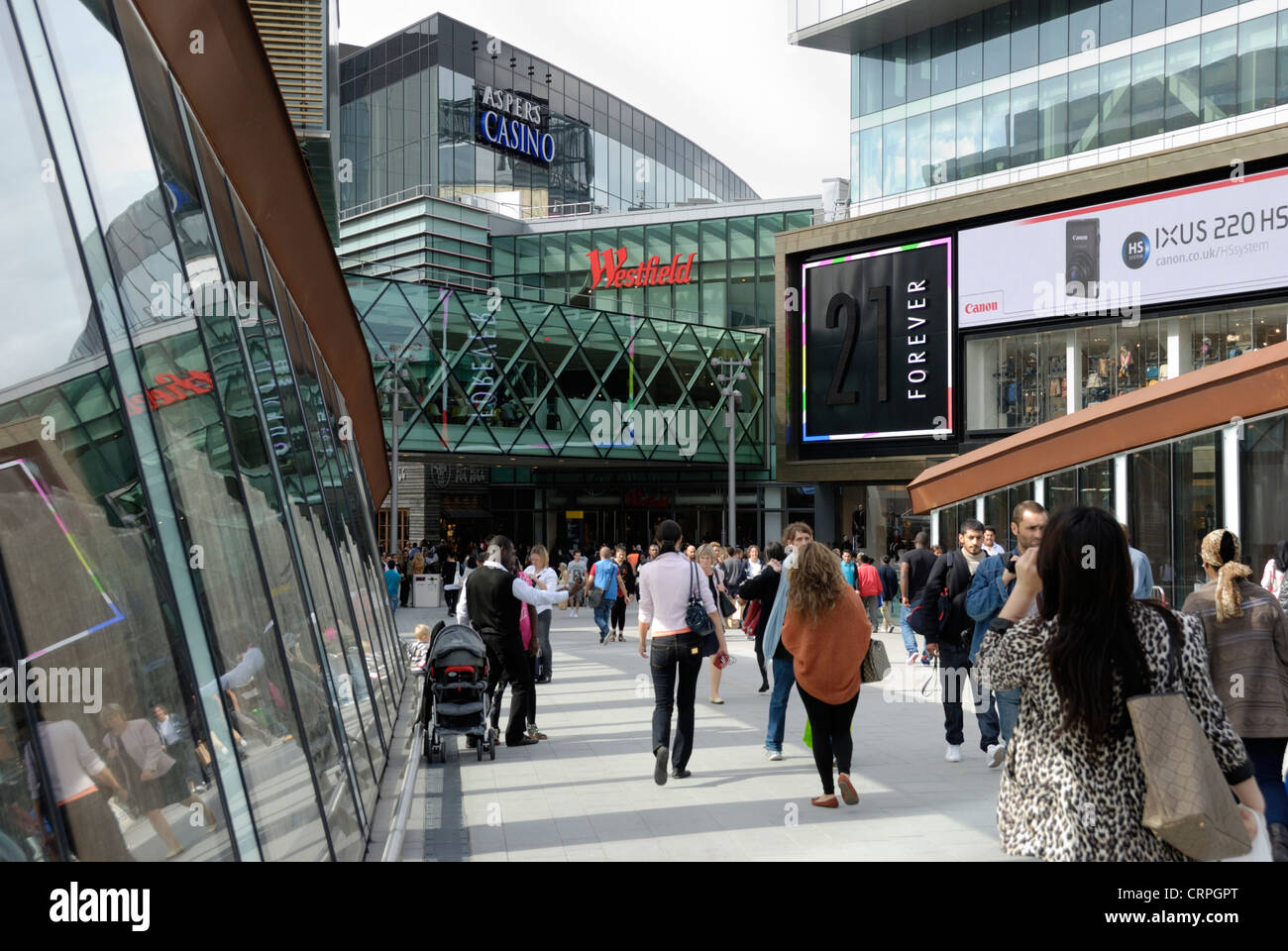 Westfield London is one of two Westfield malls in London, the other is located in Stratford City. The Westfield Corporation is no stranger to the U.S., the corporation owns and operates 32 shopping malls in the U.S. in 8 states, including a mall at the reconstructed World Trade Center in New York City.