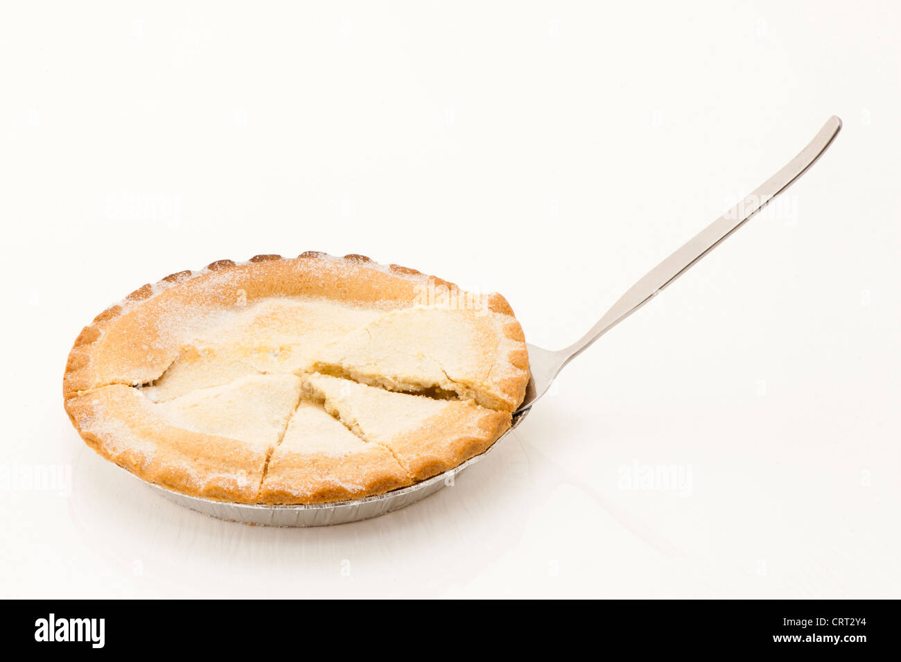 Apple pie with irregular pie chart slices stock photo royalty apple pie with irregular pie chart slices nvjuhfo Images