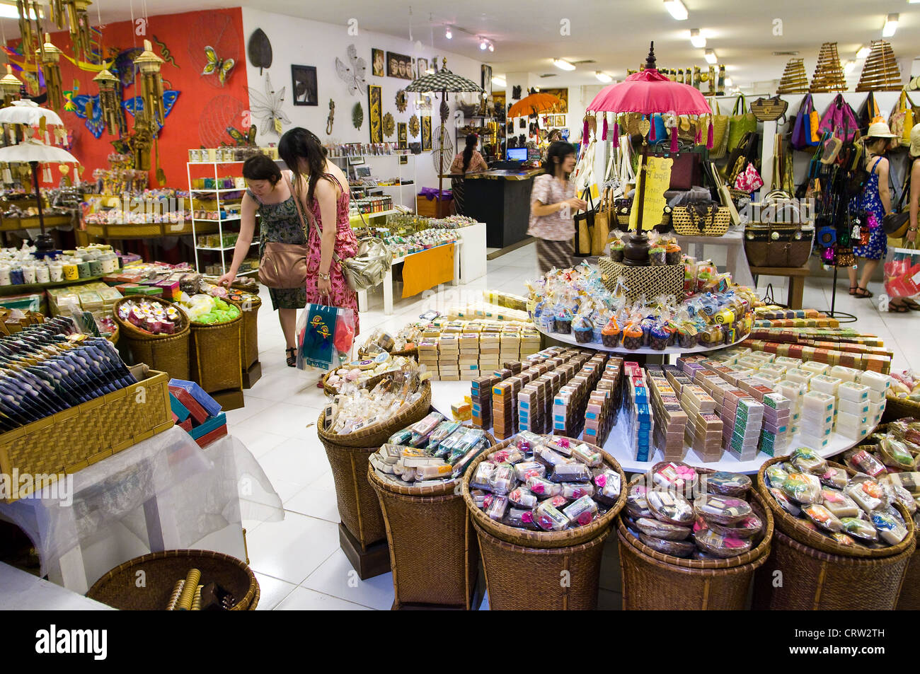 Home Decor Store Interior Centro Mall Kuta Bali Indonesia Stock Photo Royalty Free Image
