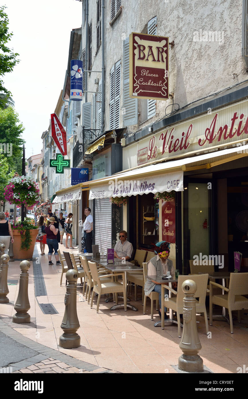 Le Vieil Antibes Cafe, Place Nationale, Old Town, Antibes, Côte ...
