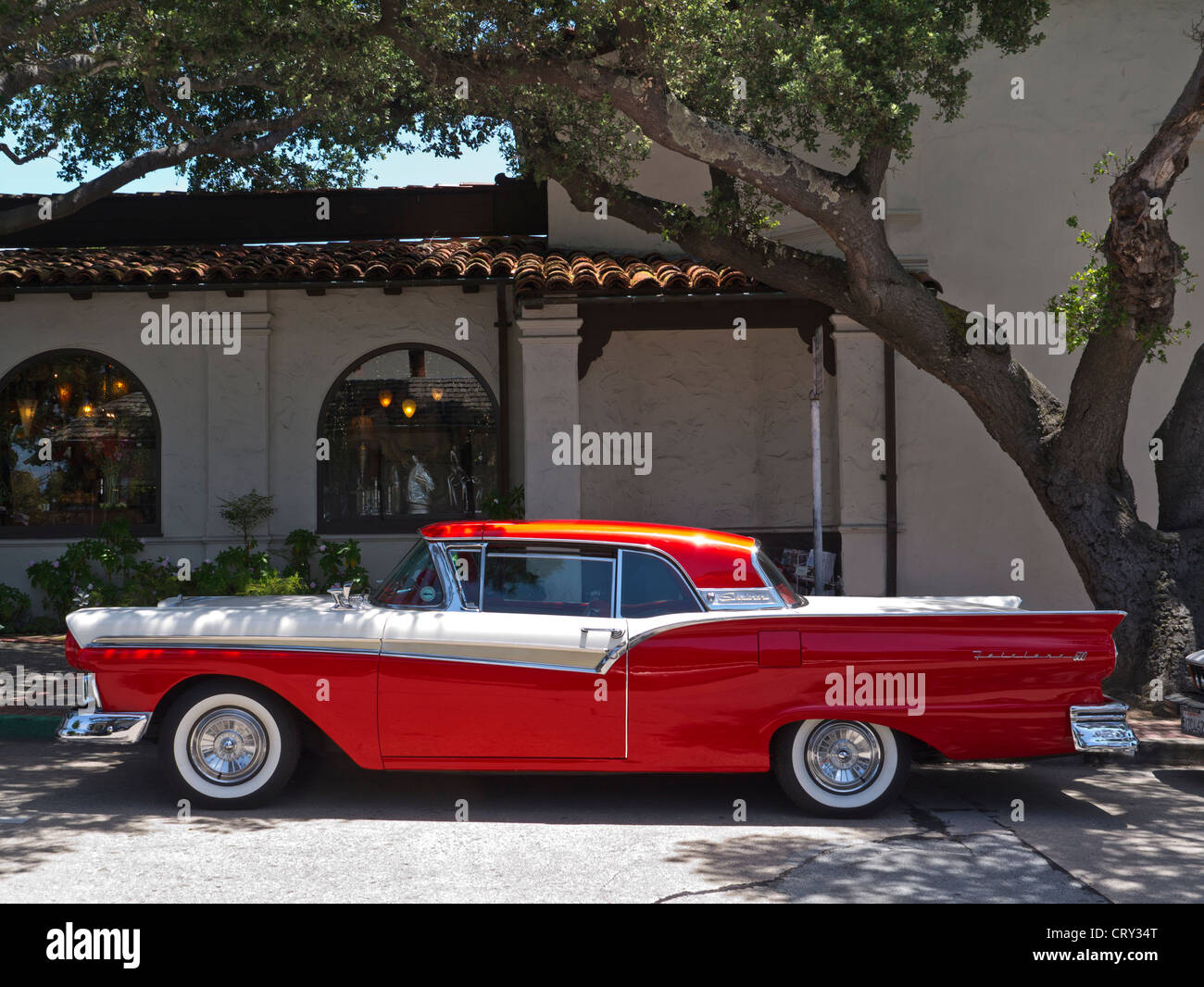 1950 39 s ford fairlane skyliner american classic motor car for American classic usa