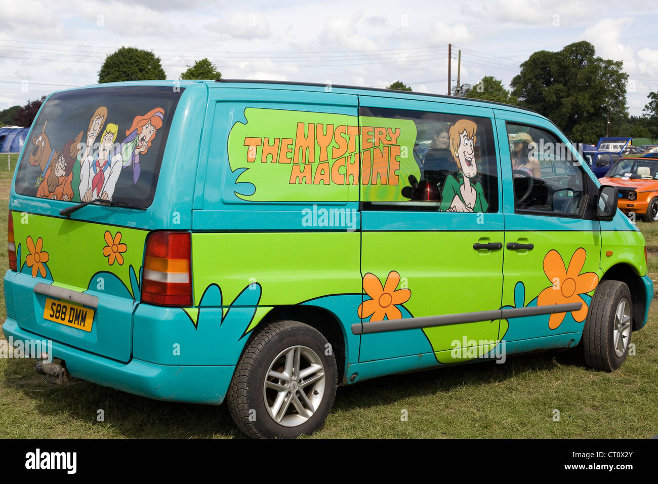 back of mystery machine