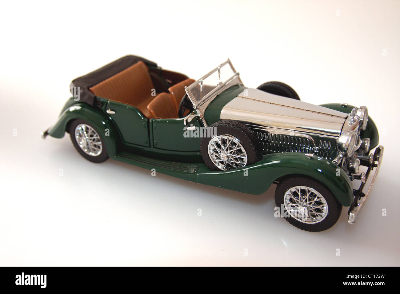 1 24 scale die cast model of a 1938 alvis 4 3 litre automobile car stock photo royalty free. Black Bedroom Furniture Sets. Home Design Ideas