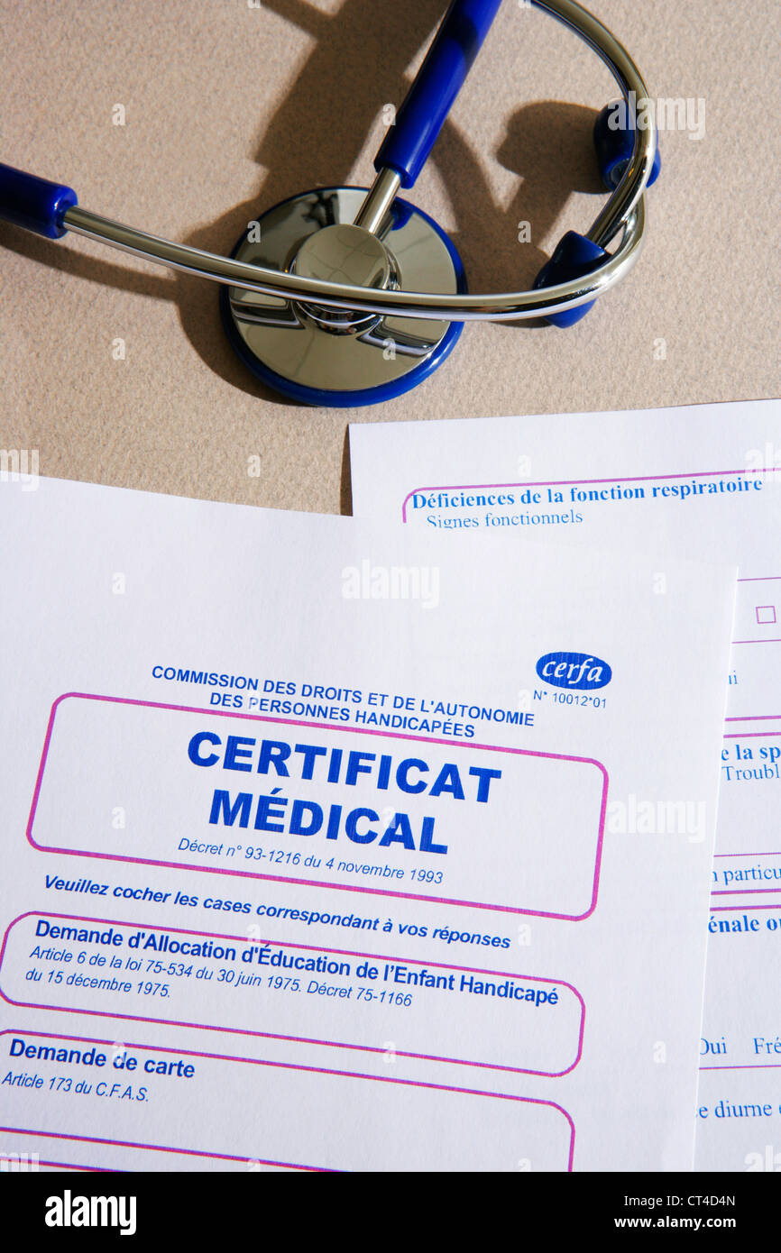 Medical certificate stock photo royalty free image 49270613 alamy medical certificate xflitez Gallery