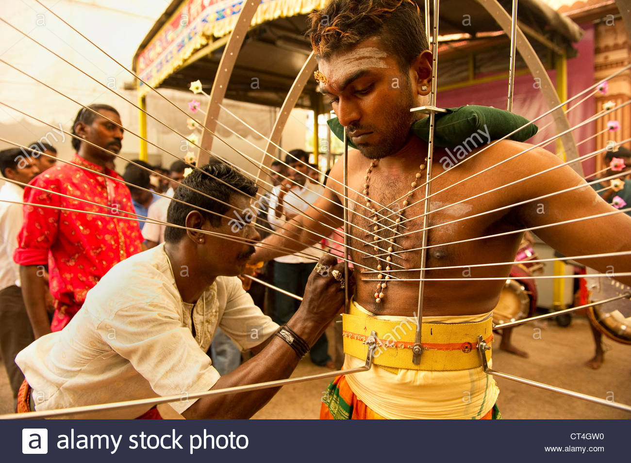 the thaipusam hindu festival is celebrated worship of lord