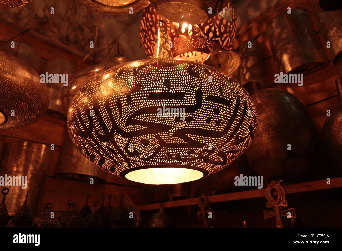 Islamic lampshade in lamp shop in khan el khalili bazaar in cairo islamic lampshade in lamp shop in khan el khalili bazaar in cairo mozeypictures Choice Image