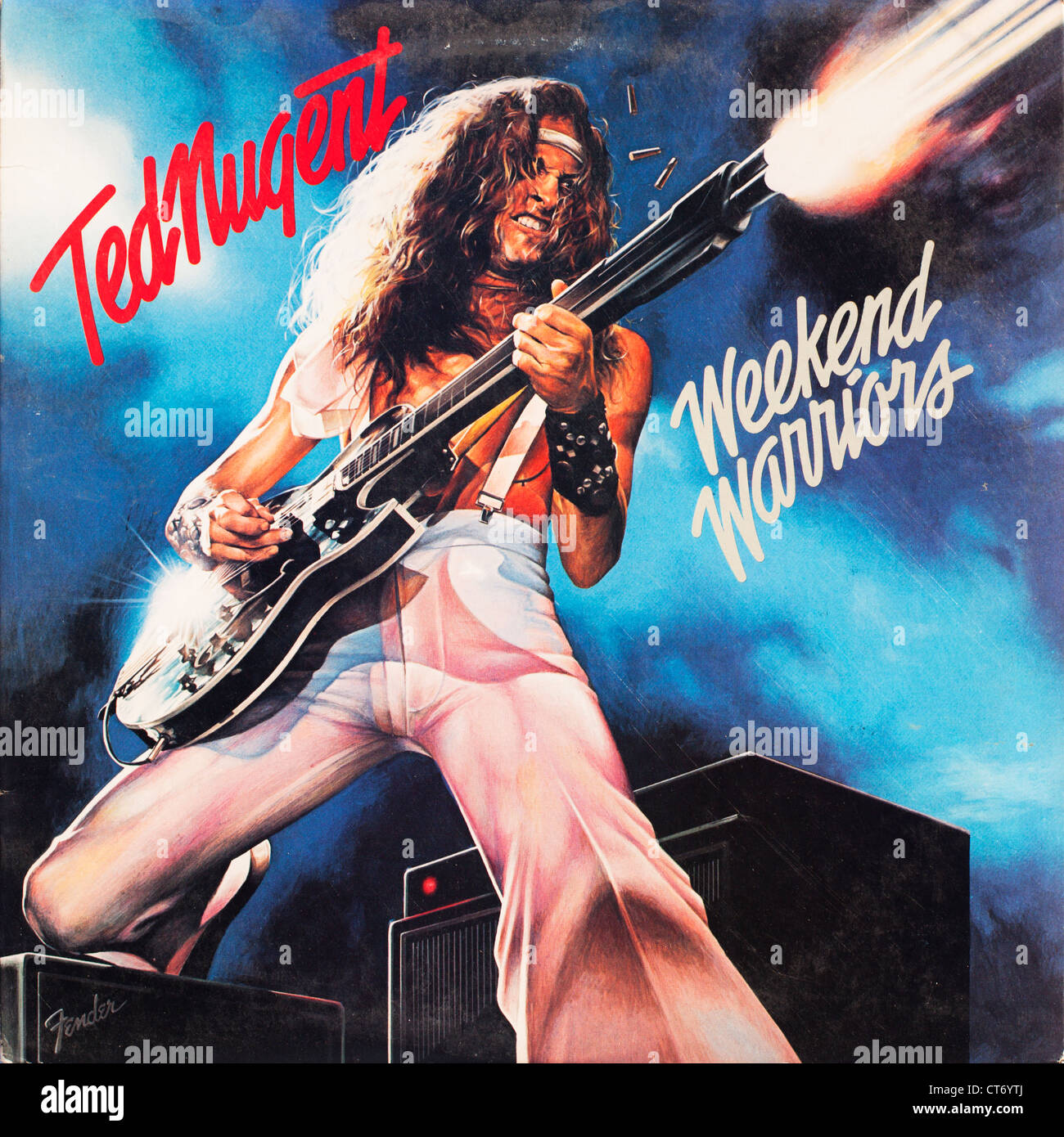 Weekend Warriors Vinyl Record Album Cover From The