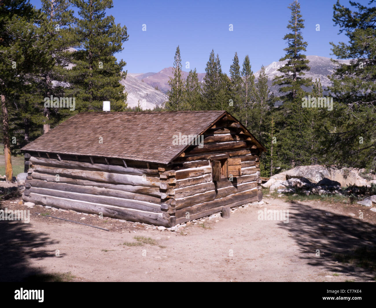 McCauley Cabin In Tuolumne Meadows Part Of The Yosemite National Park