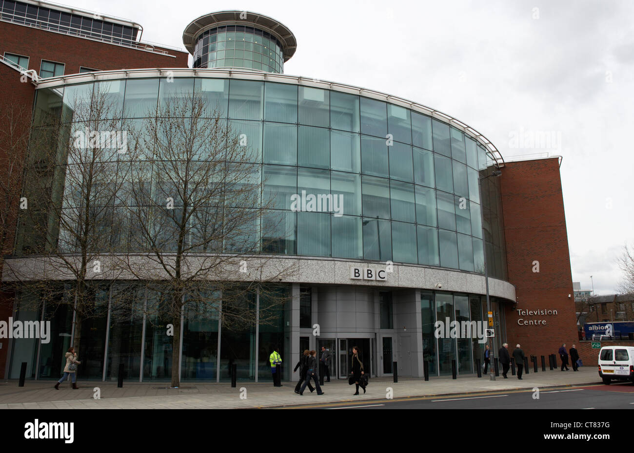 bbc television building london stock photos & bbc television