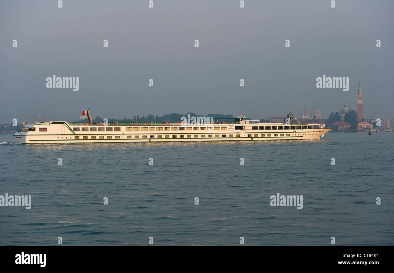 Venice Italy The Cruise Ship Michelangelo Operated By Stock - Ms michelangelo cruise ship