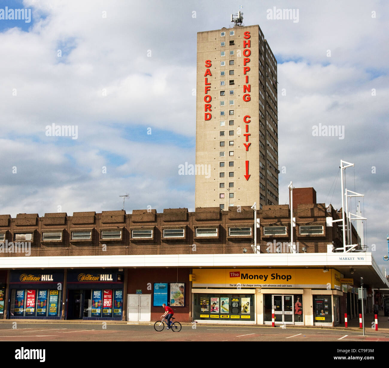 Salford City: Salford Shopping City, Salford, Greater Manchester. UK