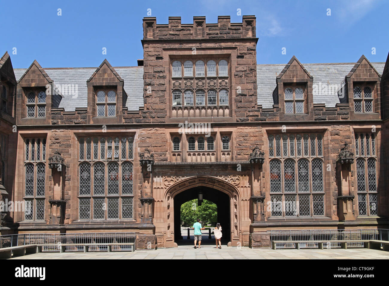 Princeton University, Gothic Architecture, East Pyne Building