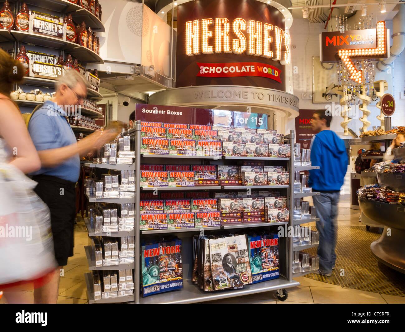 Hersheys Chocolate World Store Stock Photos & Hersheys Chocolate ...