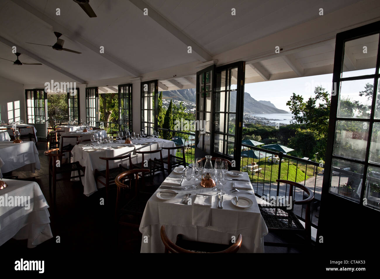 Restaurant roundhouse camps bay cape town western