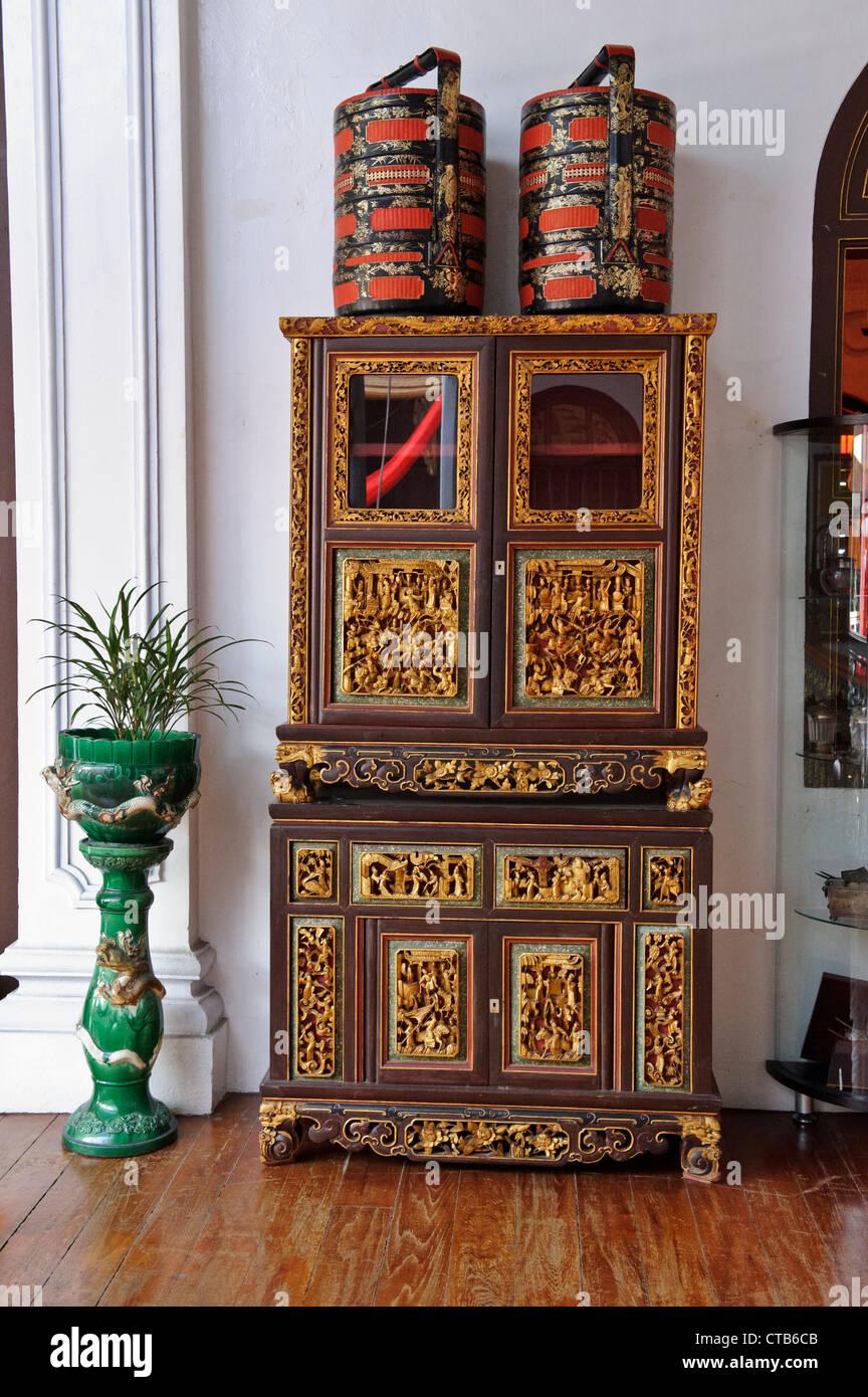 Oriental Cabinet, Peranakan Mansion, Penang, Malaysia