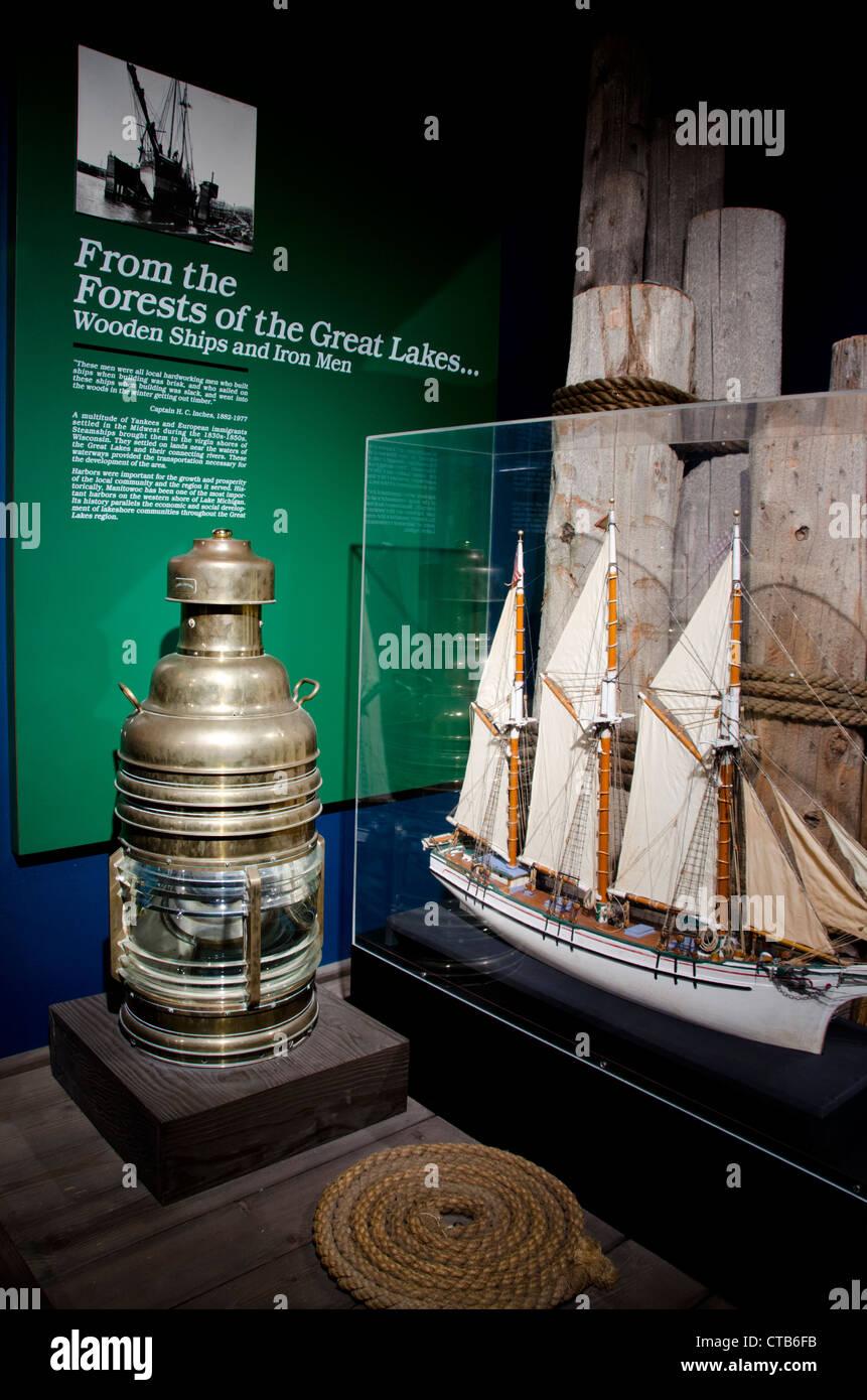 Wisconsin, Manitowoc. Wisconsin Maritime Museum At Manitowoc ...