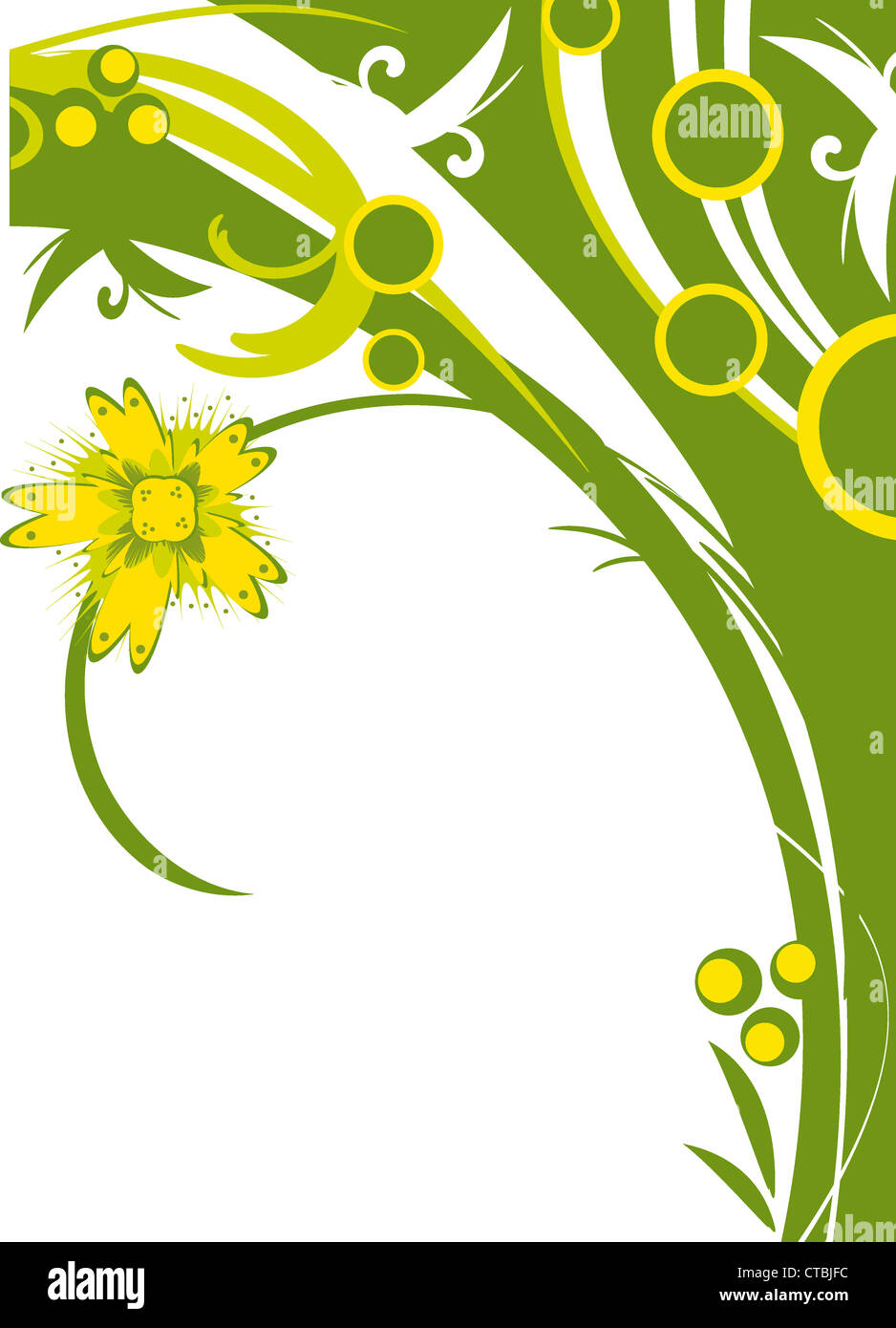 Abstract Floral Backgrounds For Your Design Abstract floral background for