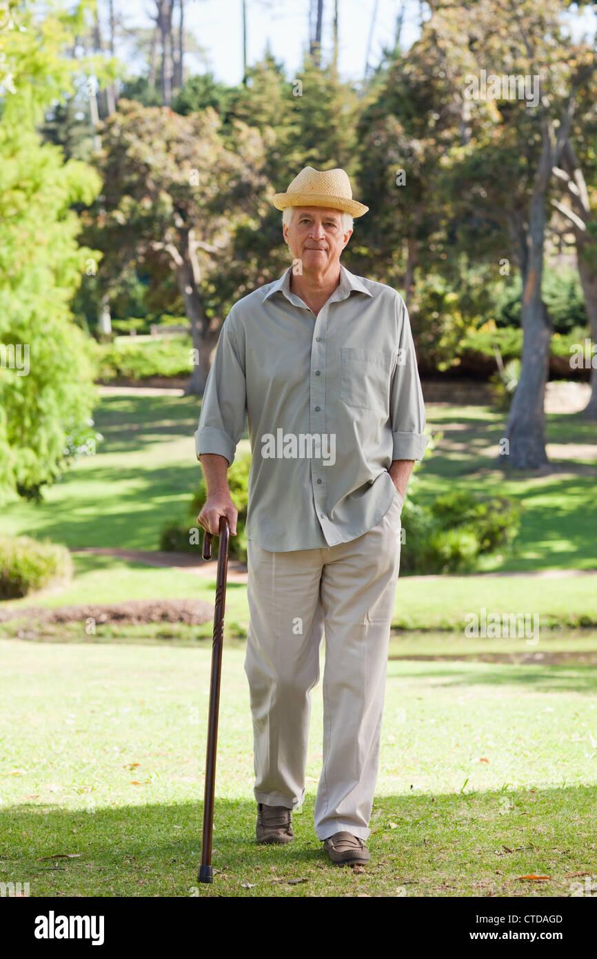 elderly man walking - photo #46