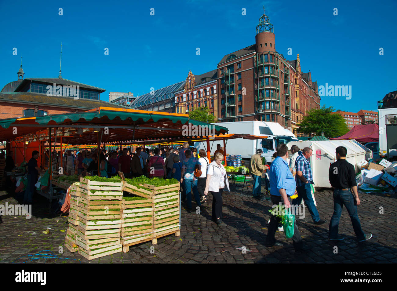 Hamburg Fish Market Food