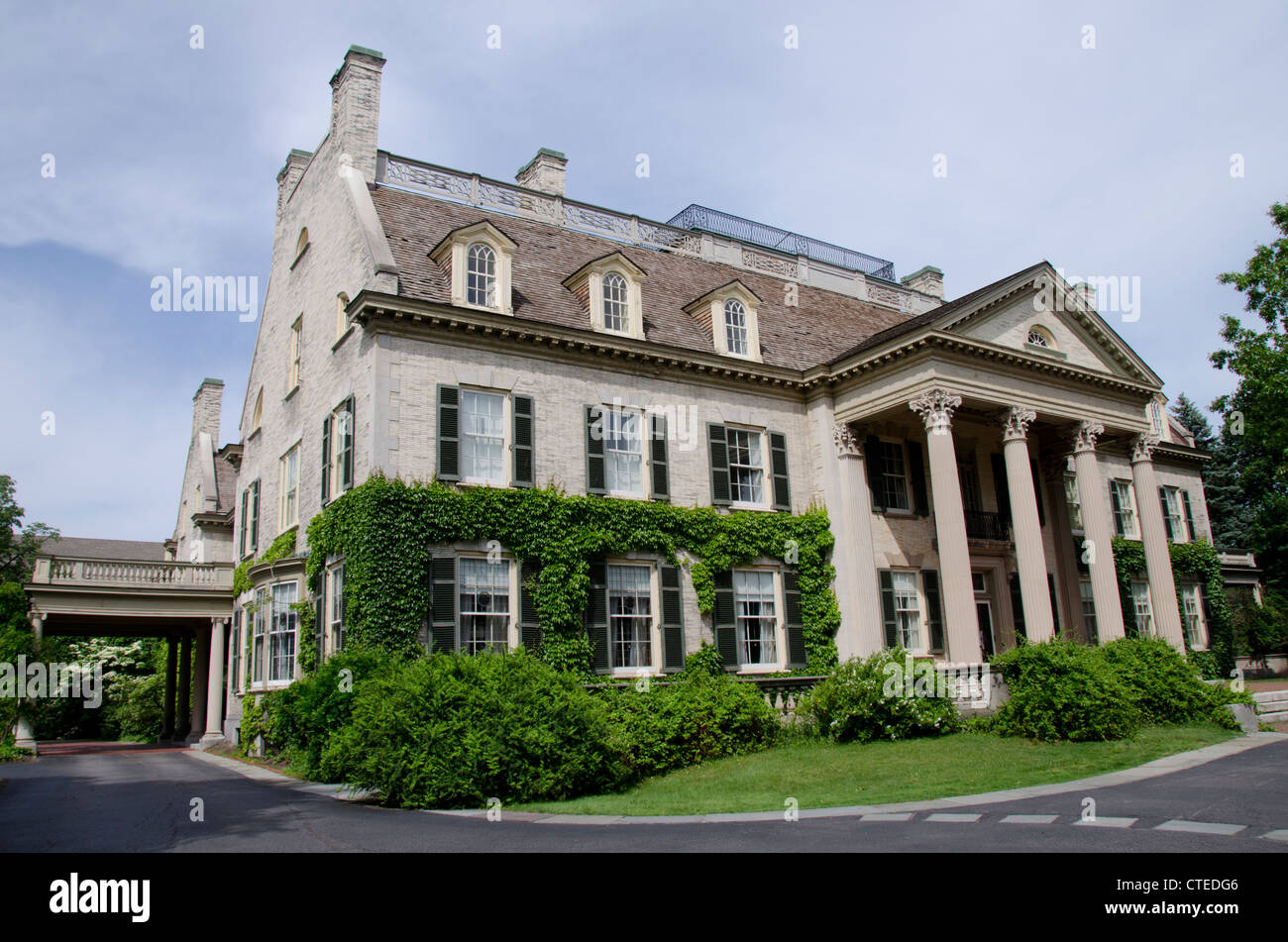 New york rochester george eastman house founder of for Rochester house