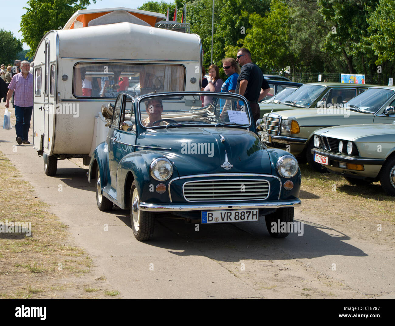 PAAREN IM GLIEN, GERMANY - MAY 26: Cars Morris Oxford MO, \