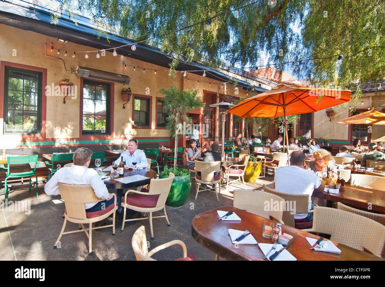 La Grande Orange Restaurant Outdoor Patio.