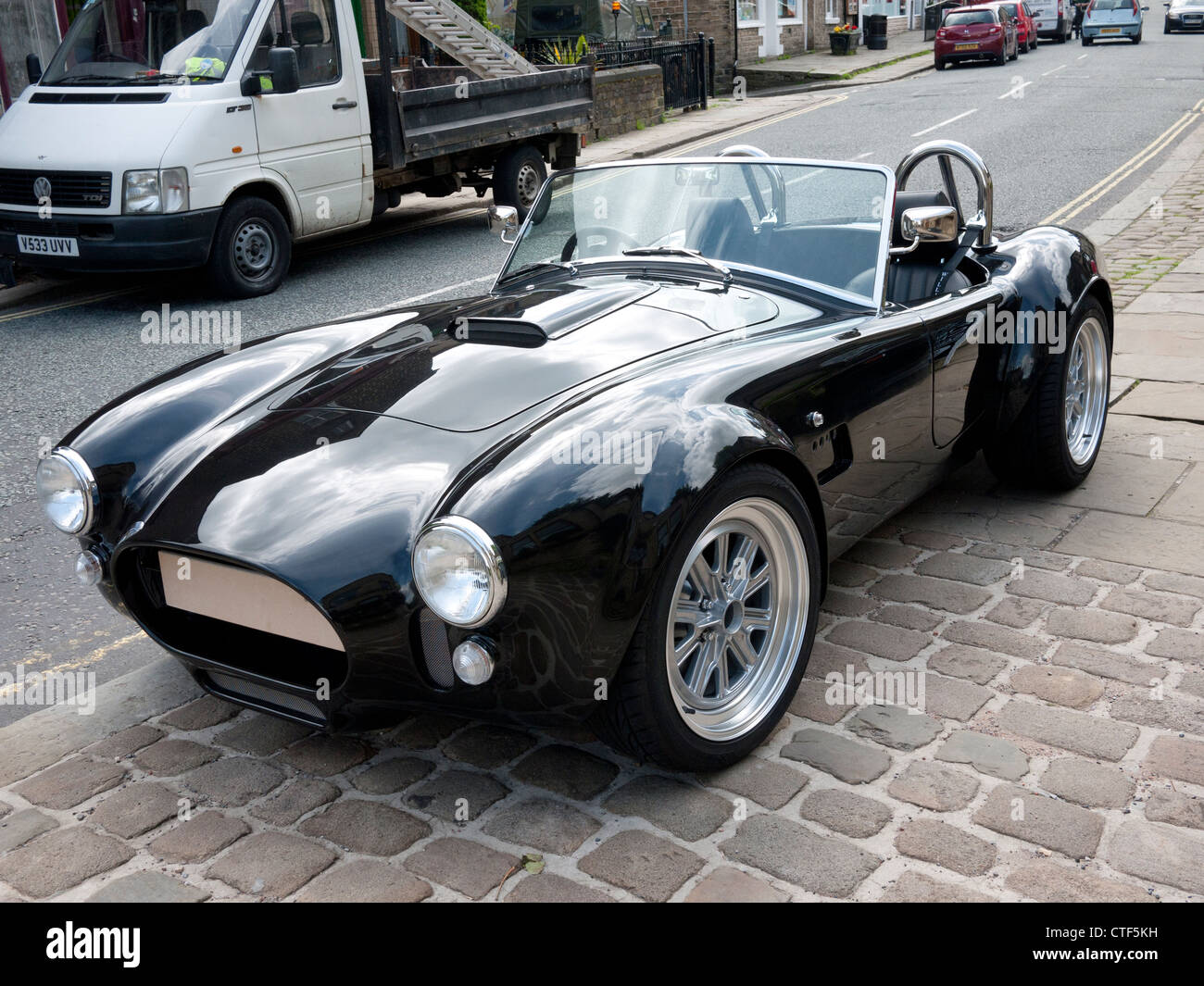 Ac Cobra Replica Kit Car Uk Stock Photo Royalty Free