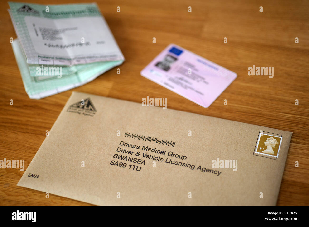 Dvla Address To Send Letter