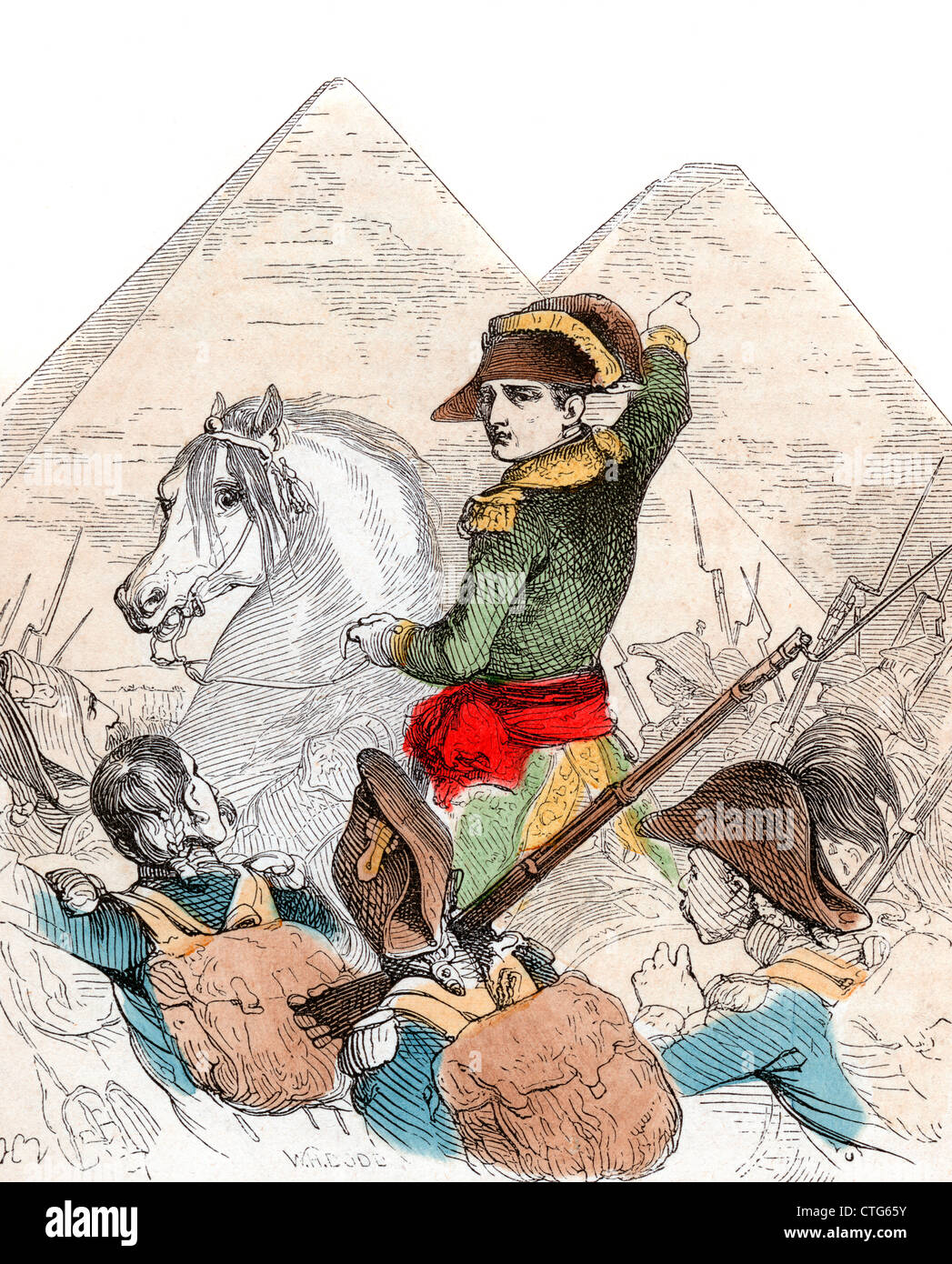 napoleon bonaparte a military leader in the 1700s history essay Napoleon's reign essay examples  he has been portrayed as a merciless leader,  the significance of napoleon bonaparte in the history of france and europe.