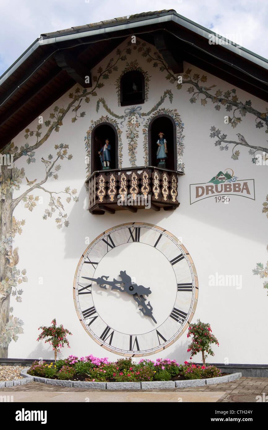 drubba cuckoo clock instructions