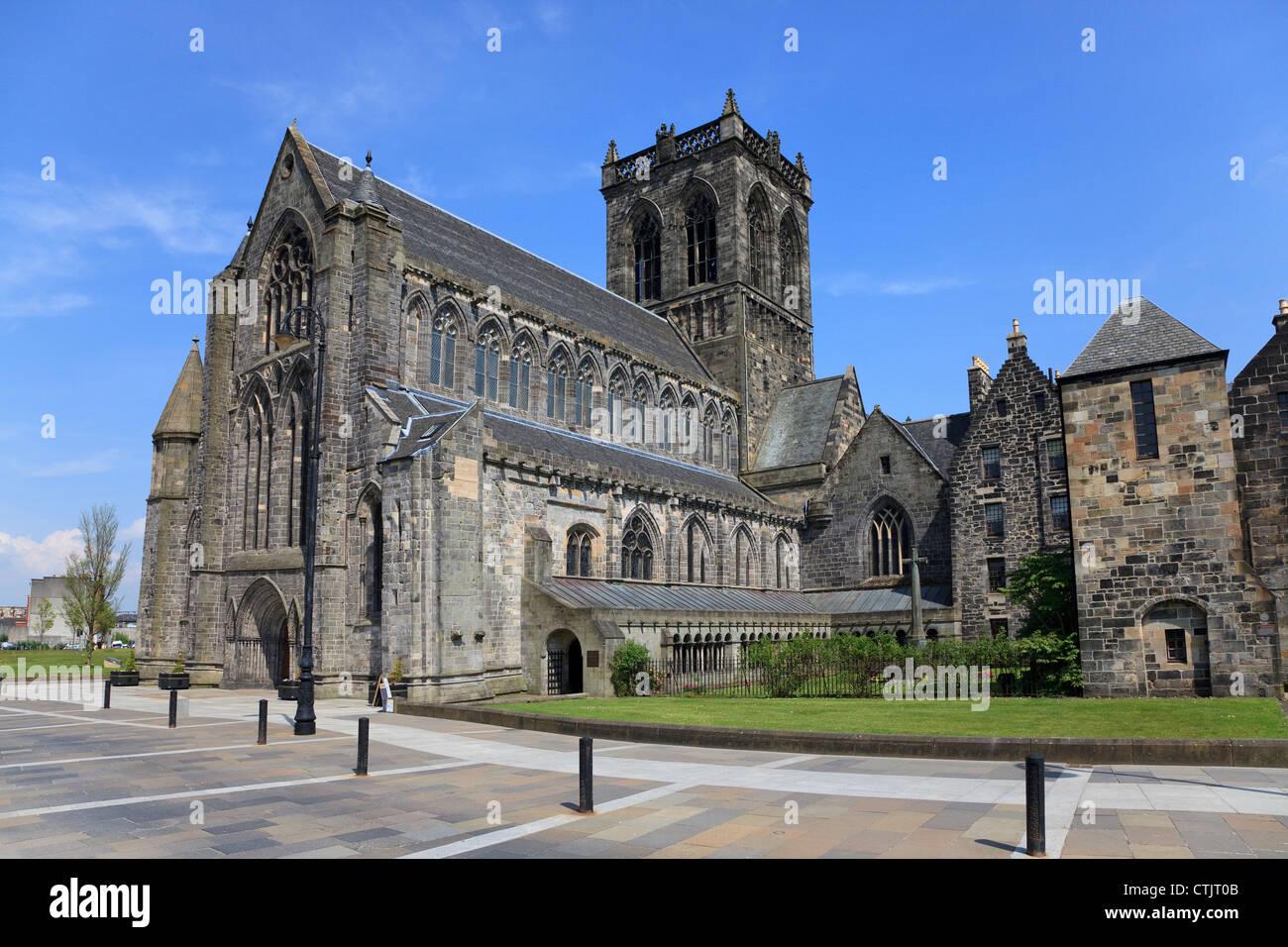 Paisley abbey renfrewshire scotland uk stock photo royalty paisley abbey renfrewshire scotland uk sciox Image collections