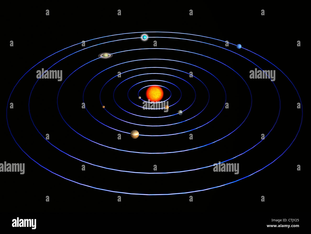 sun as center of solar system - photo #12