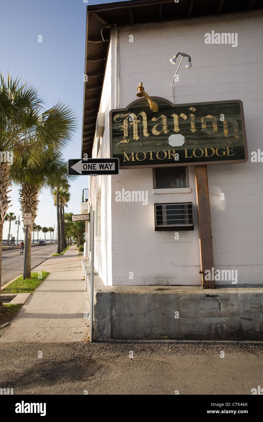 Marion motor lodge on avenida menendez in st augustine for Marion motor lodge st augustine