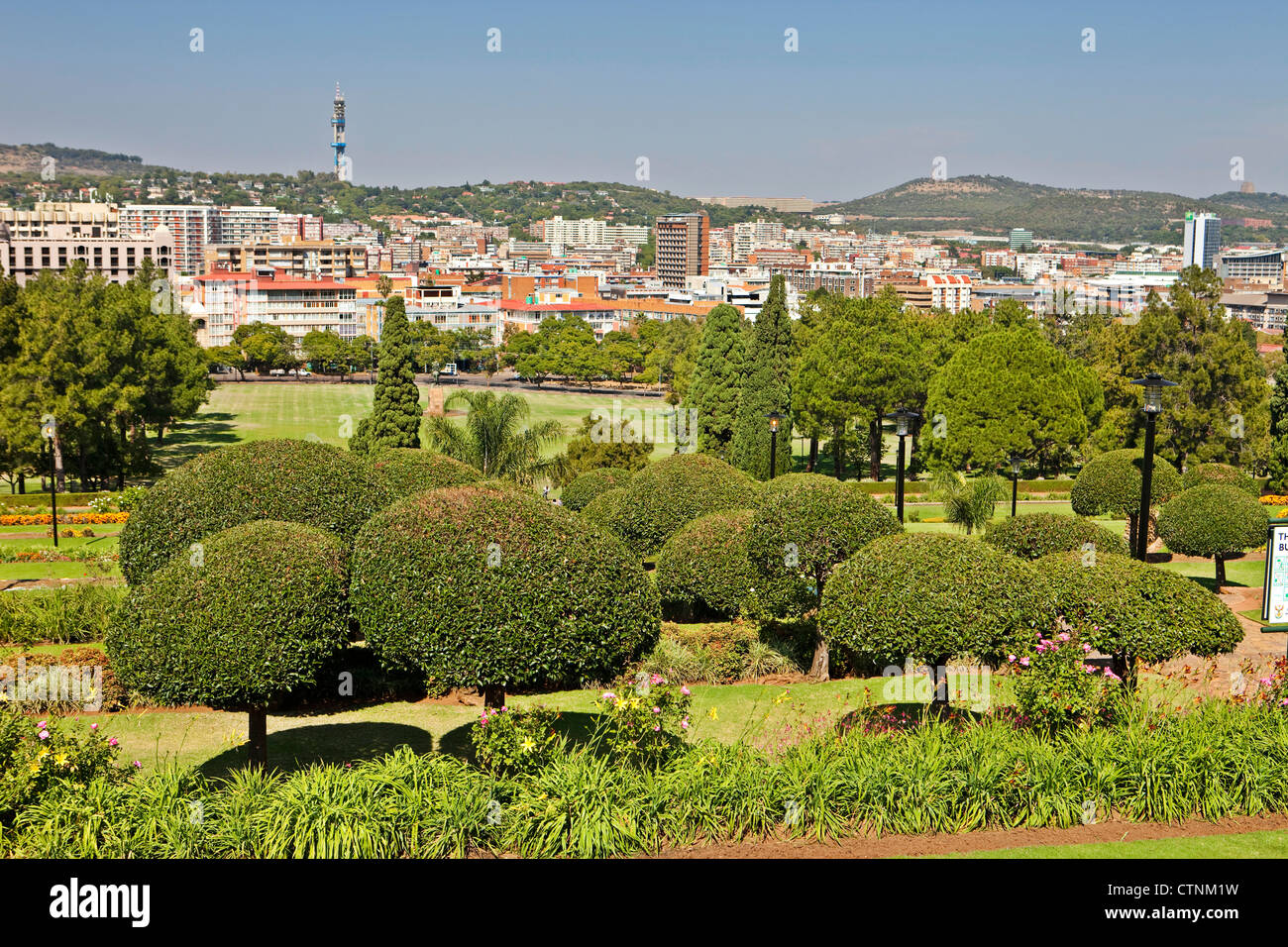 Pretoria Capital Of South Africa Stock Photo Royalty Free Image - What is the capital of south africa