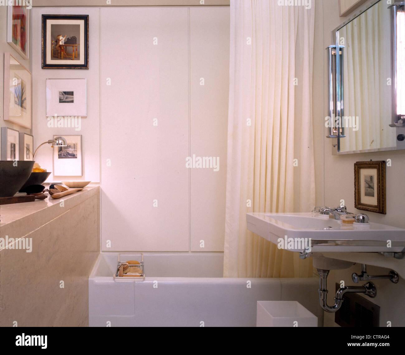 farnsworth house bathroom stock photo royalty free image
