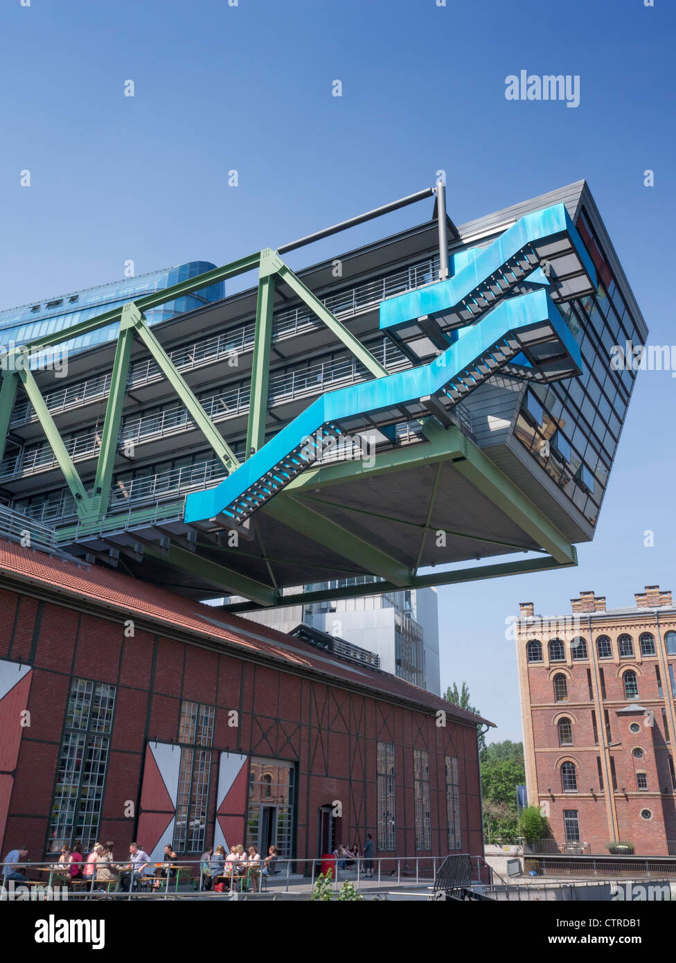 Modern Architecture Germany modern architecture of ogilvy advertising agency headquarters at