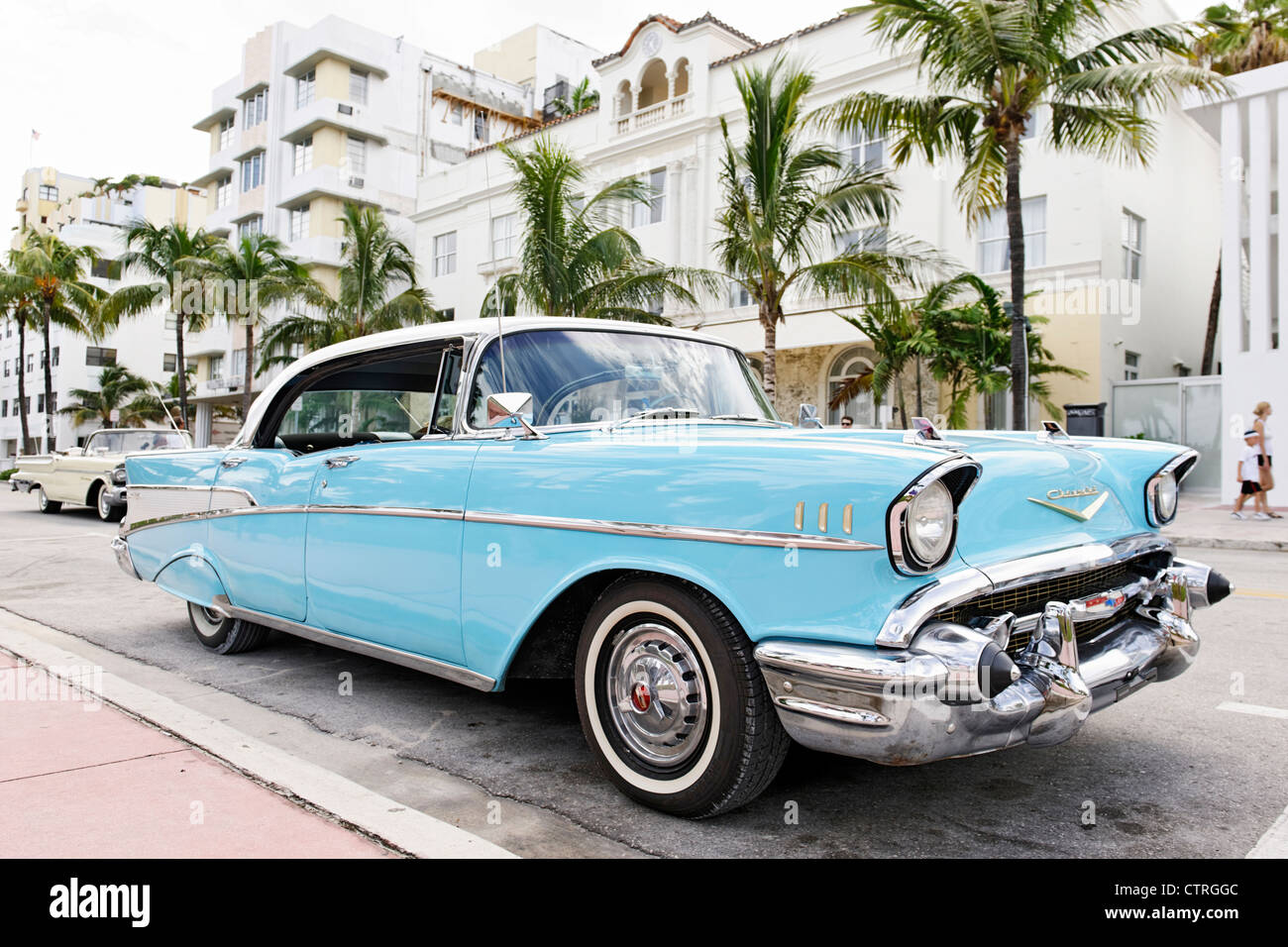 Chevrolet Bel Air Built In Fifties American Classic Cars