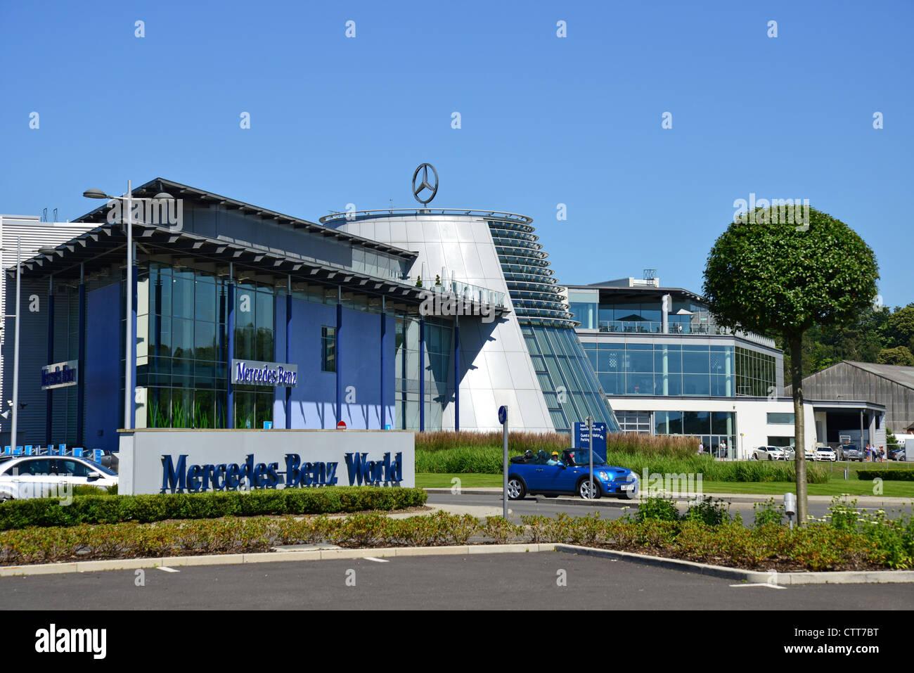 Mercedes benz world building brooklands weybridge for Mercedes benz surrey uk