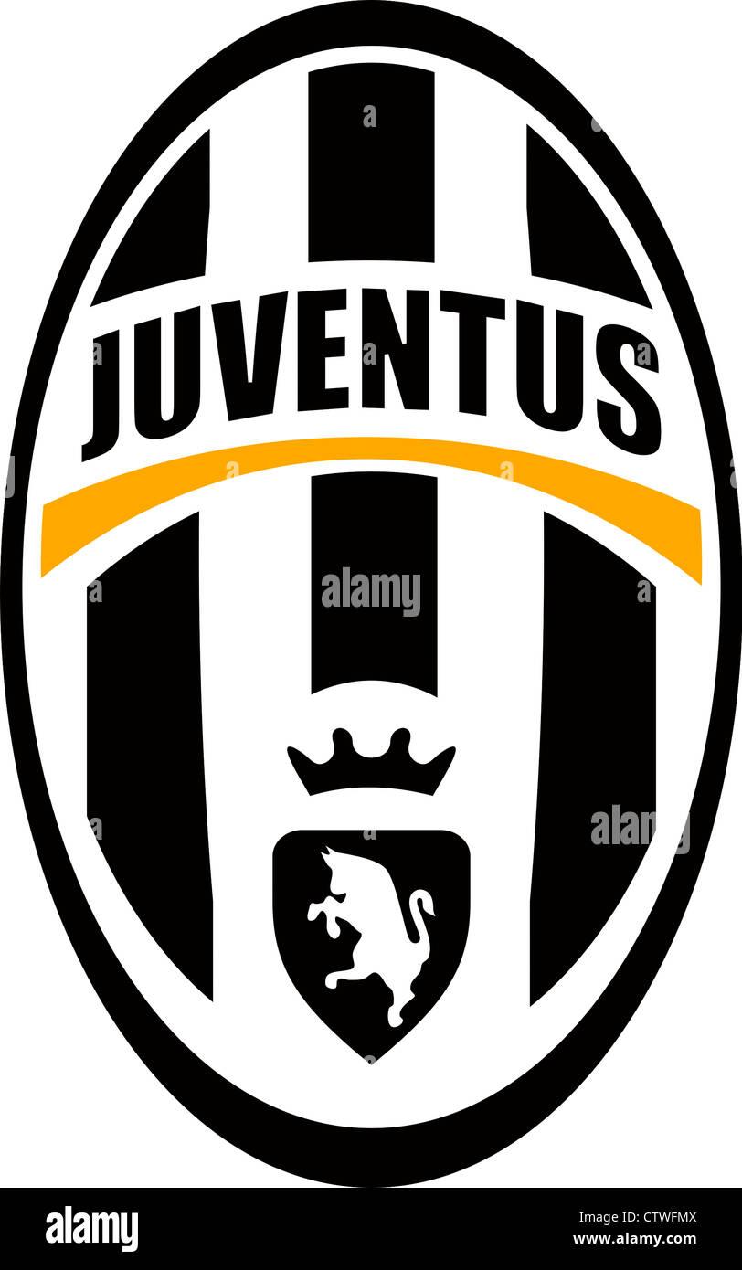 logo of italian football team juventus turin stock photo