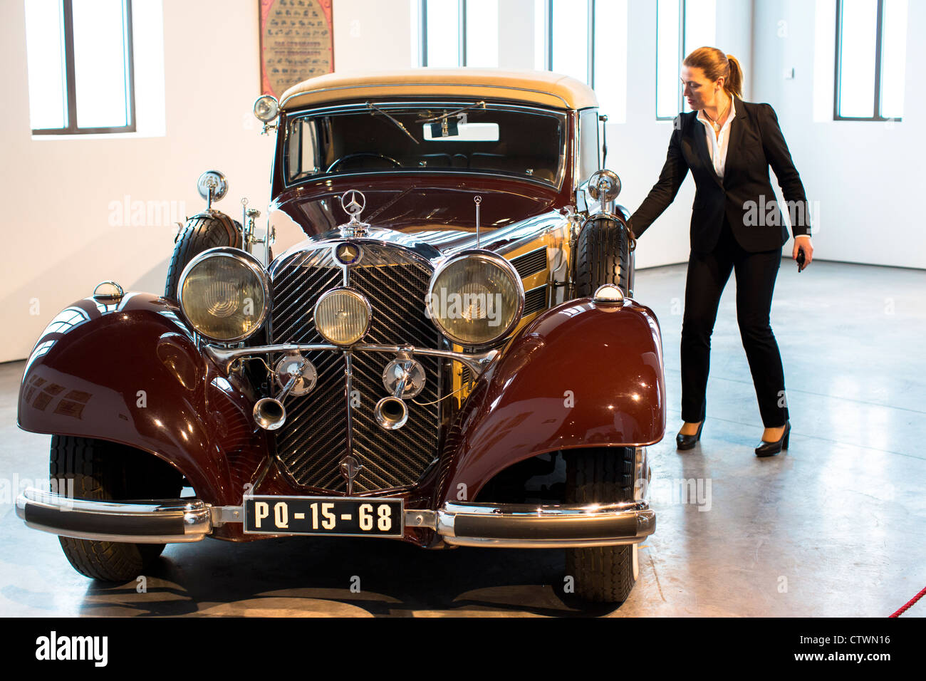 Automobile Museum Malaga Spain Stock Photo Royalty Free Image  # Muebles Mogar Malaga