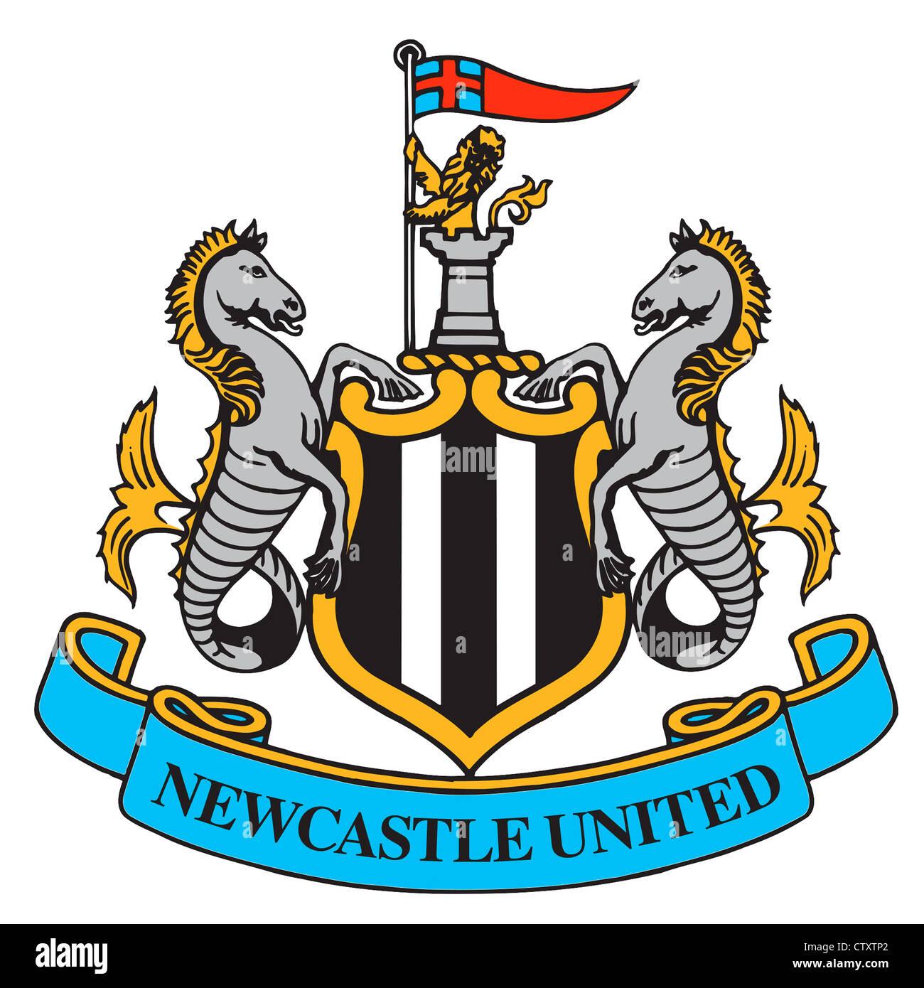 Famoso Logo of English football team Newcastle United Football Club Stock  ER48