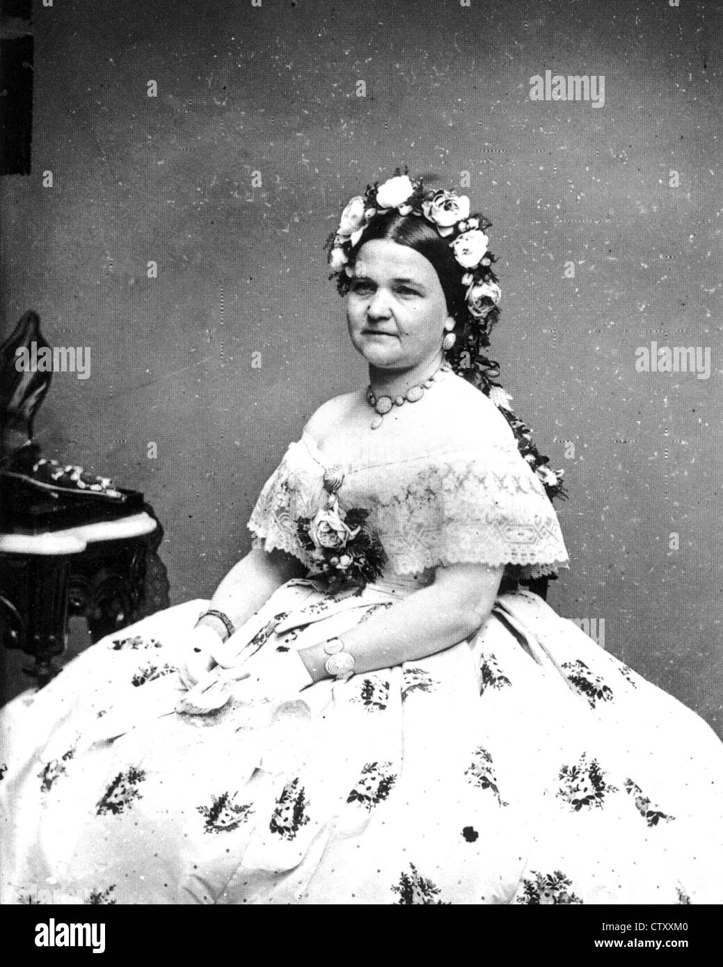 Mary Todd Lincoln 1818 1882 Wife Of Abraham Lincoln