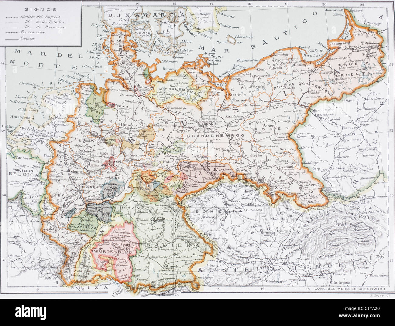 Map of imperial germany prior to the first world war at the turn map of imperial germany prior to the first world war at the turn of the gumiabroncs Image collections