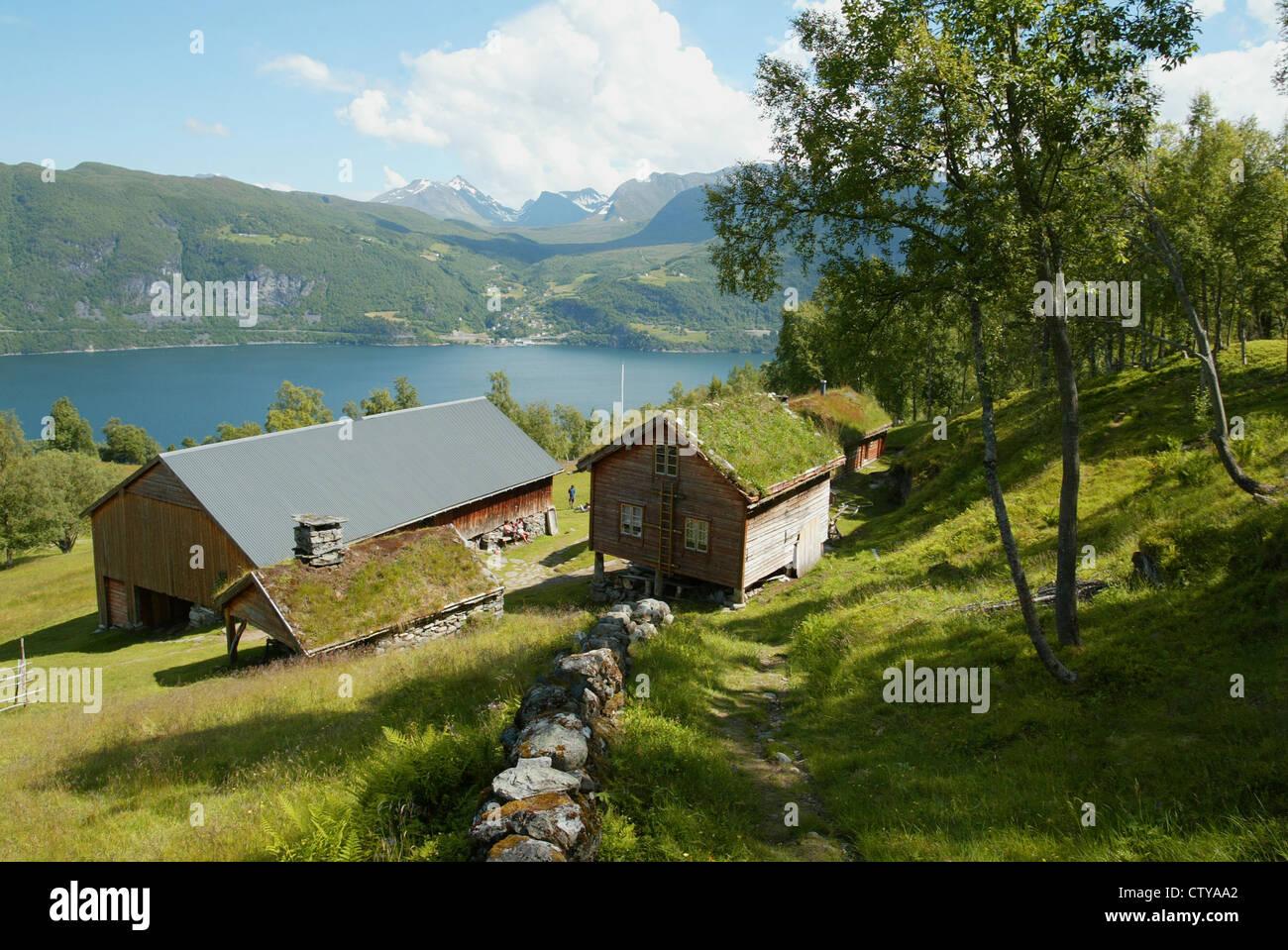 Ytste Skotet, Stordal, Norway, living museum based on how ...
