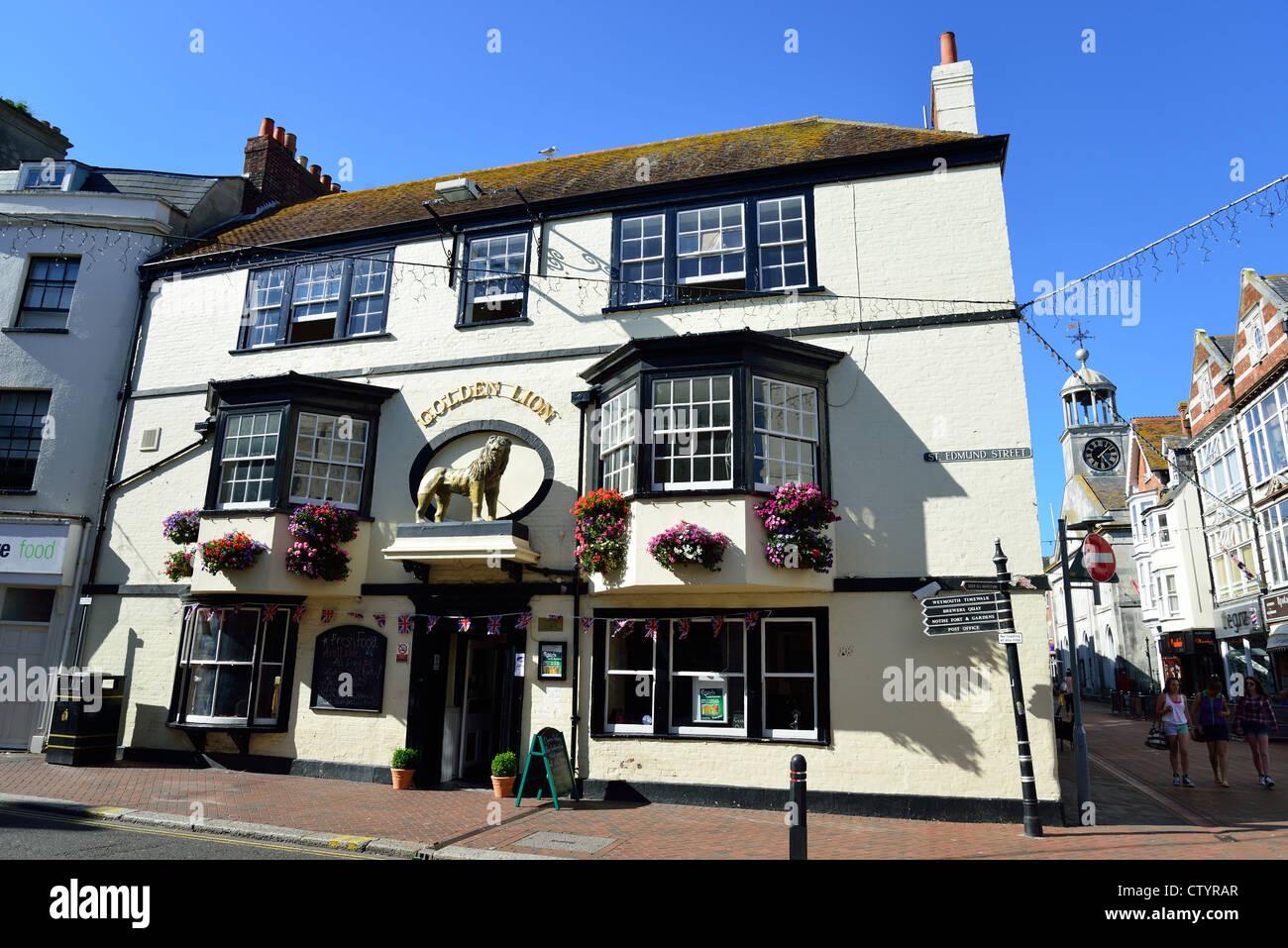 golden lion pub st edmund street weymouth dorset