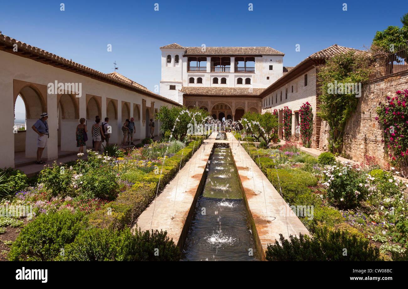 Alhambra Granada Andalucia Andalusia Spain Europe Beautiful Stock Photo 49793728 Alamy