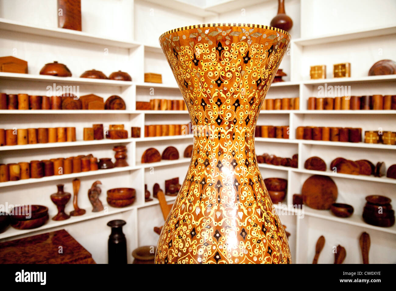 Moroccan vase stock photos moroccan vase stock images alamy moroccan marquetry vase for sale in a craft shop essaouira morocco africa stock image reviewsmspy