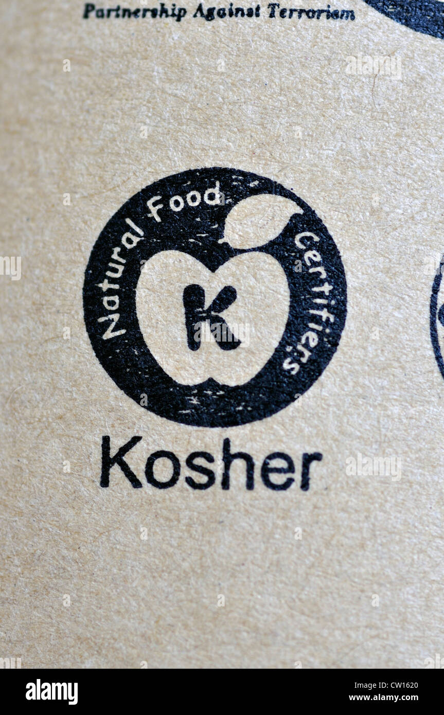 Kosher sign on food package stock photo royalty free image kosher sign on food package biocorpaavc